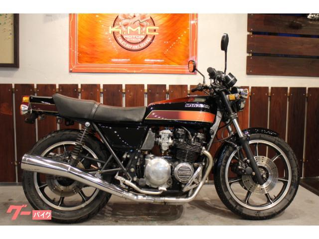 カワサキ Z500 外装NEWペイント物件画像