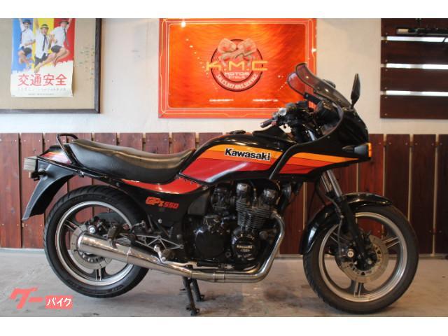 カワサキ GPZ550 オリジナルコンデション物件画像