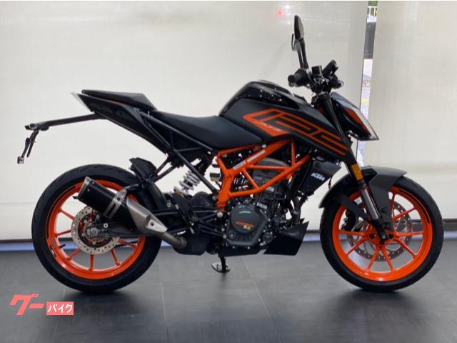 KTM 125デューク  2021