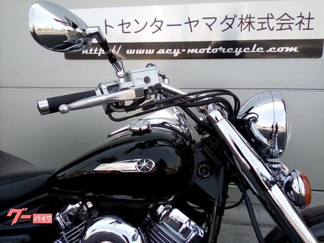 ヤマハ ドラッグスター400クラシック 社外ハンドルバー サドルバックサポート付きの画像(愛知県