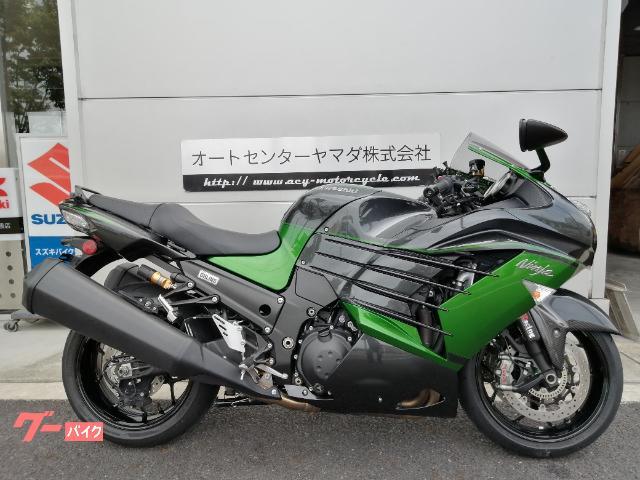 Ninja ZX−14R ハイグレード 2018年モデル FカーボンフェンダーETC2.0 付き