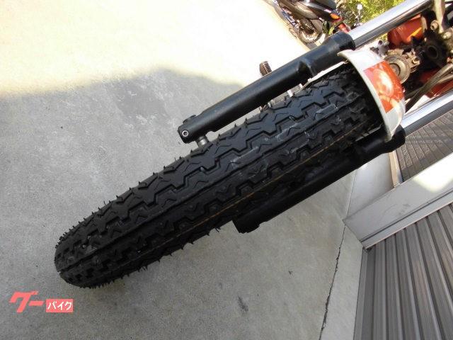 スズキ グラストラッカー 前後タイヤ新品の画像(愛知県