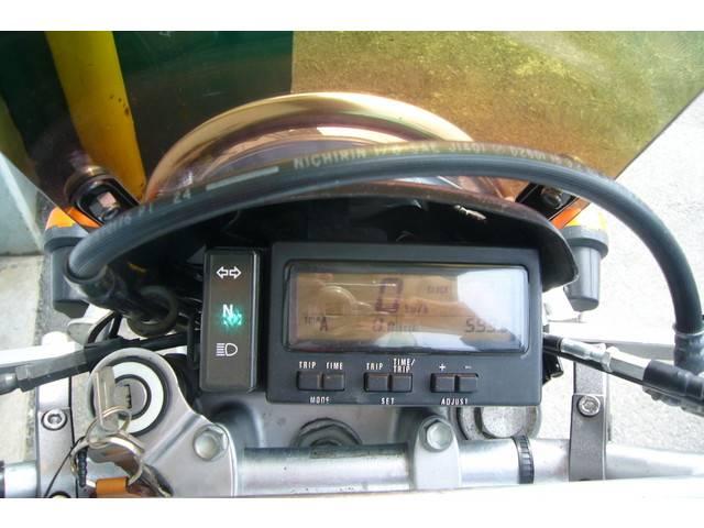 スズキ ジェベル250XC ローダウン用サイドスタンド付きの画像(愛知県