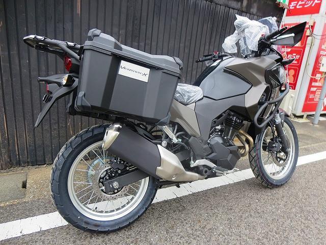 カワサキ VERSYS-X 250 ツアラー・サイドケース・エンジンガード・ハンドガードの画像(愛知県