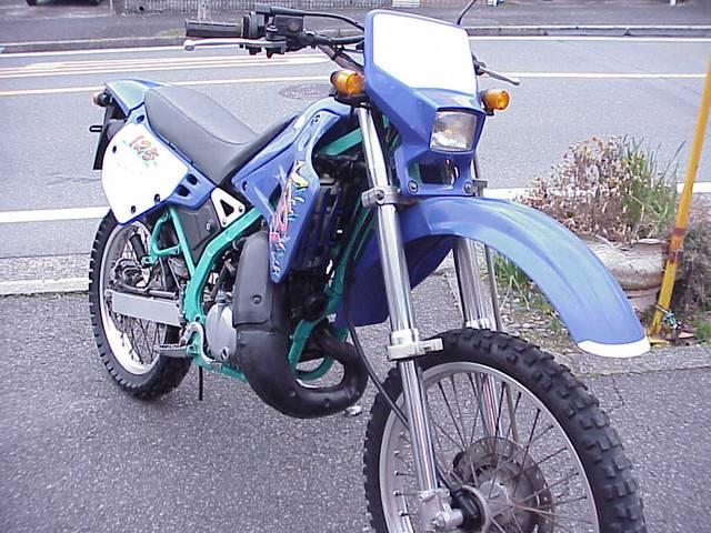 カワサキ KDX125SRの画像(三重県