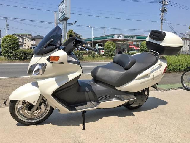 スズキ スカイウェイブ650 可変バルブ式マフラー リヤBOX グリップヒーターの画像(愛知県
