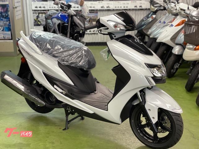 シグナスX 2021年モデル ホワイト