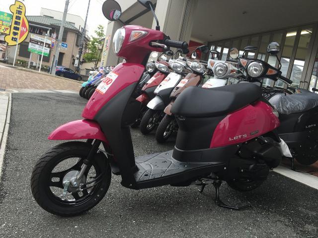 スズキ レッツ 新車の画像(静岡県