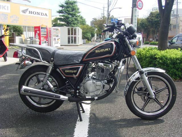 スズキ GN125-2F キック付 新車の画像(静岡県