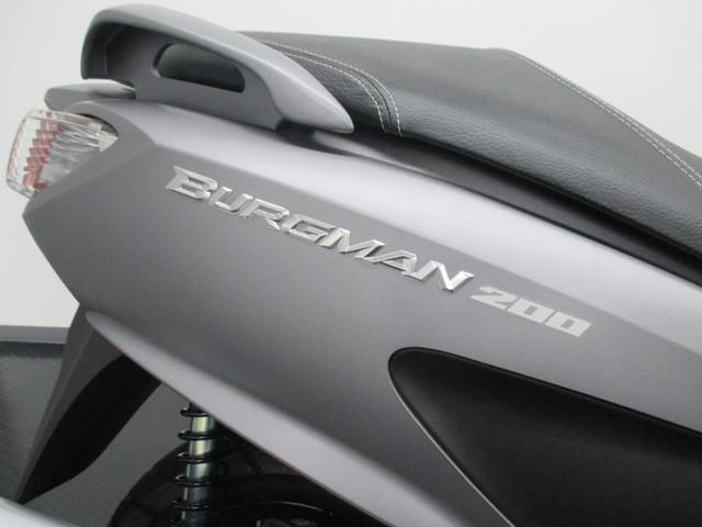 スズキ バーグマン200 スズキワールド認定中古車 2017年式 マットグレーの画像(静岡県