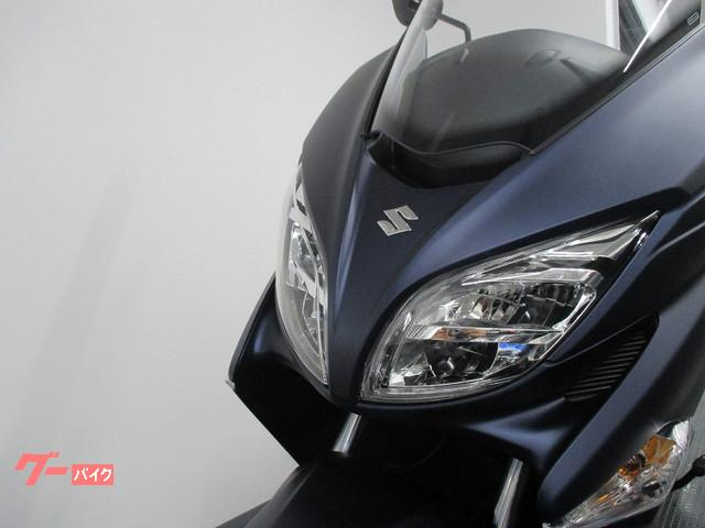スズキ バーグマン400 新車 マットブルーの画像(静岡県