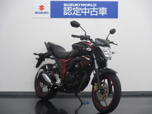 スズキ GIXXER 認定中古車 ツートンカラーの画像(静岡県