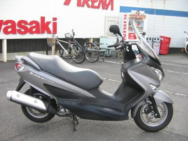 スズキ バーグマン200の画像(静岡県
