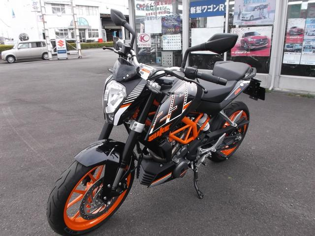 KTM 250デュークの画像(静岡県