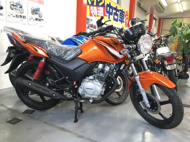 ホンダ CBF125 新車の画像(静岡県