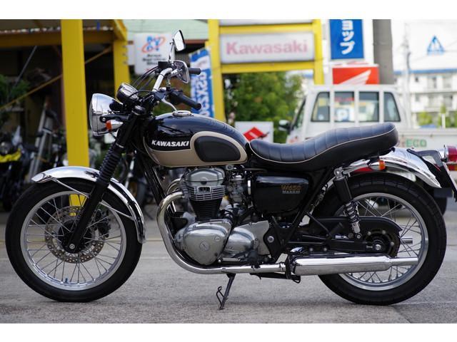 カワサキ W650 2002年モデル アップハンの画像(愛知県