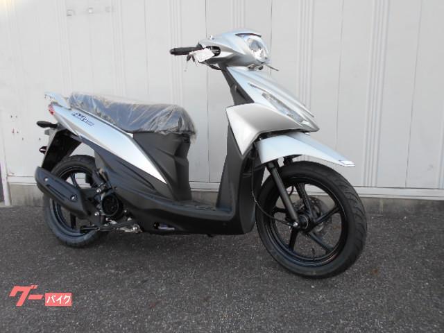アドレス110 2021年モデル コンビブレーキ搭載