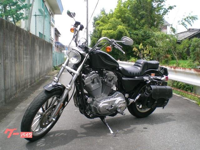 HARLEY-DAVIDSON XL883 2004年式 カットマフラーの画像(愛知県