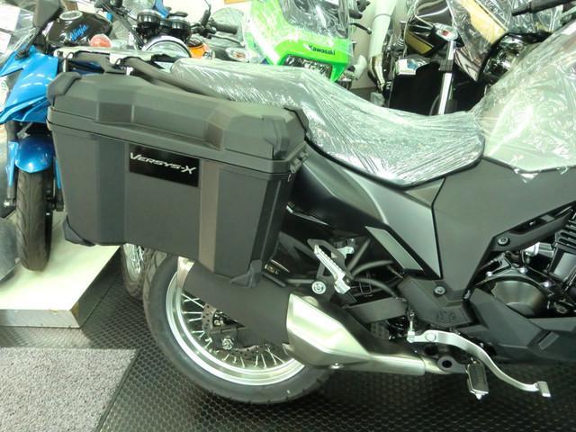 カワサキ VERSYS-X 250 ABS 純正パニアケース付 新車の画像(岐阜県