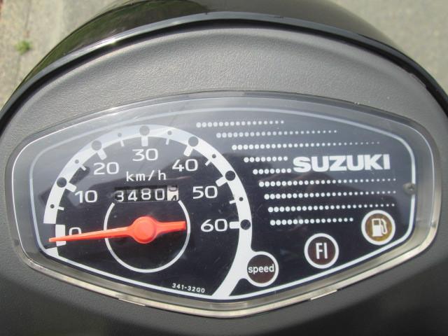 スズキ レッツ4 4サイクル FI車 ブラックの画像(愛知県