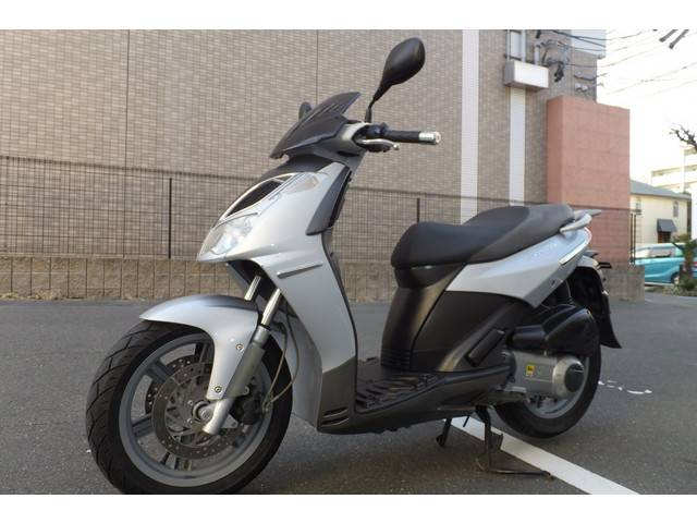 aprilia スポーツシティ250IE  1オーナー グーバイク鑑定付車両の画像(愛知県