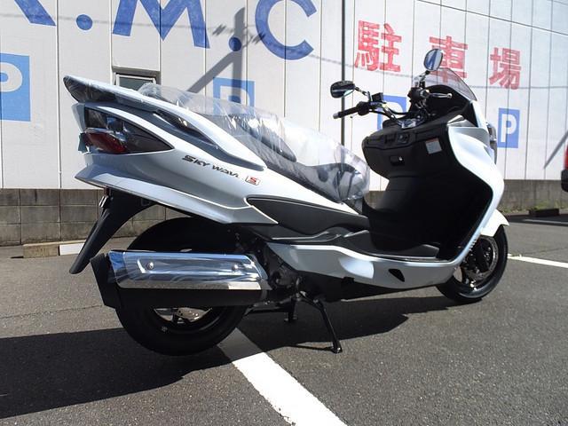 スズキ スカイウェイブ250 タイプSベーシックの画像(愛知県