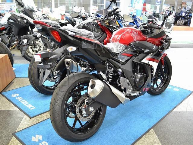 スズキ GSX250R レッド・ブラックの画像(愛知県