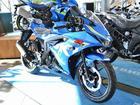 スズキ GSX-R125 ABS ブルーの画像(愛知県