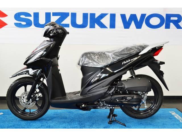 スズキ アドレス110 タイタンブラックの画像(愛知県