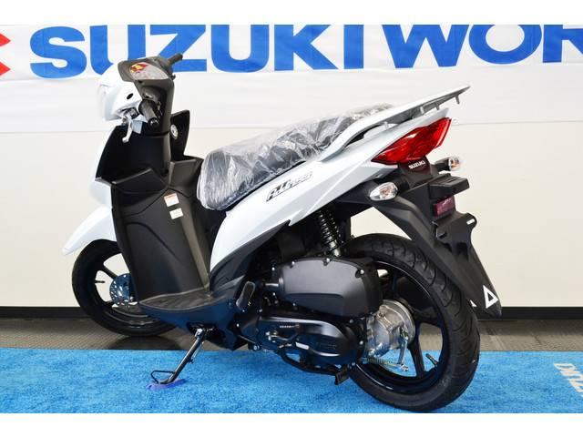 スズキ アドレス110 ブリリアントホワイトの画像(愛知県