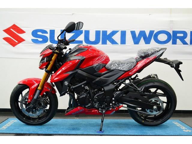 スズキ GSX-S750ABS 2017年新型モデル パールミラレッドの画像(愛知県