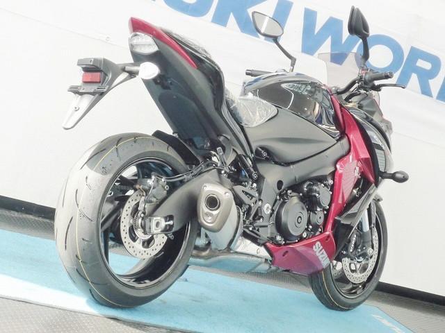 スズキ GSX-S1000F レッド ブラックの画像(愛知県