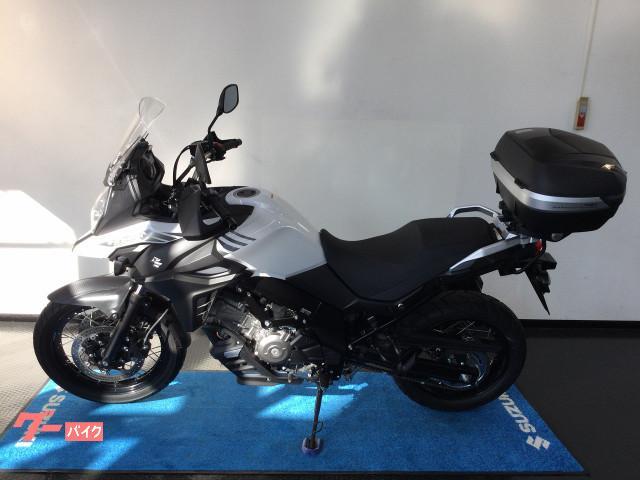 スズキ V-ストローム650XT ABS ホワイトの画像(愛知県