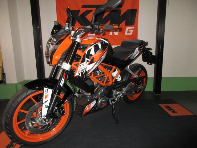 KTM 390デューク・オレンジコンプリートの画像(静岡県