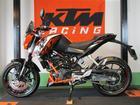 KTM 200デュークの画像(静岡県