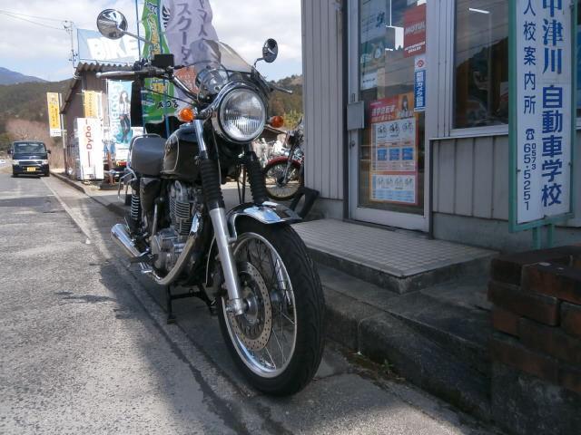 ヤマハ SR400の画像(岐阜県