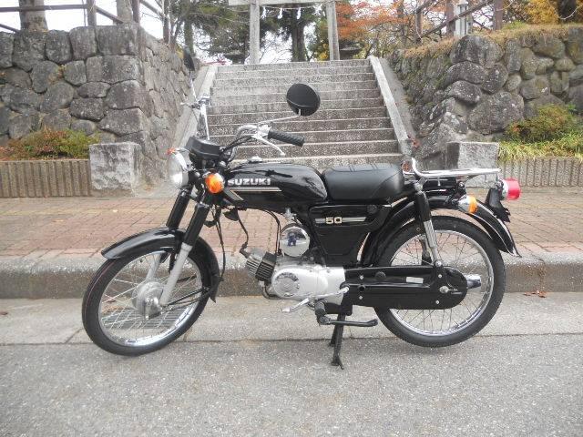 スズキ K50 12V 前後タイヤチューブほか新品部品多数交換の画像(長野県