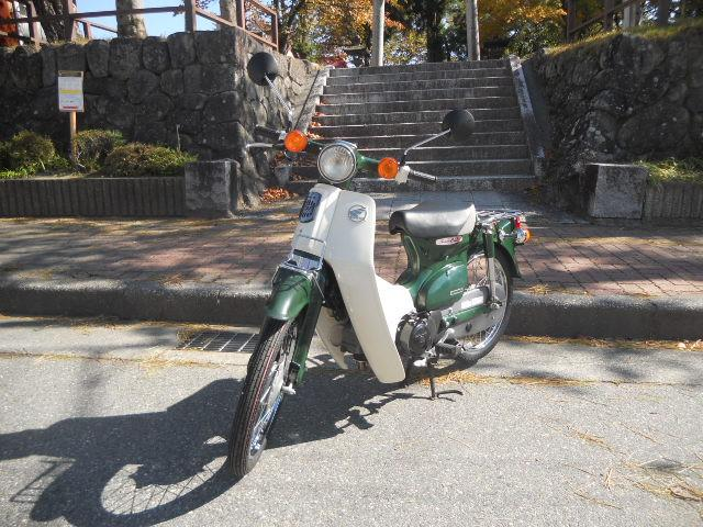 ホンダ スーパーカブ50日本製インジェクション 新品部品多数交換の画像(長野県