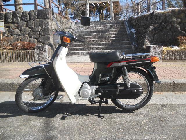 スズキ バーディー80 セル付 前後タイヤチューブほか新品部品多数交換済の画像(長野県