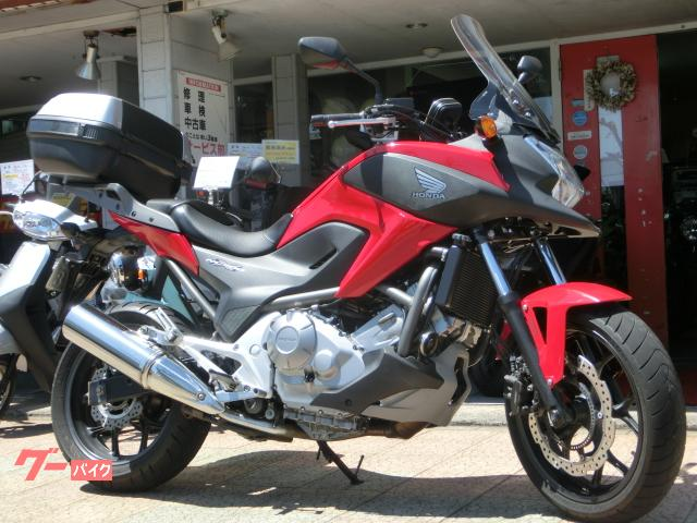NC700X ABS  トップケース付き