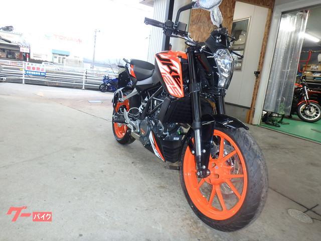 KTM 125デュークの画像(石川県