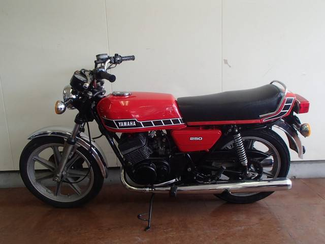 ヤマハ RD250の画像(静岡県