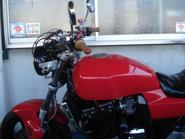 スズキ GSX400インパルス 赤の画像(愛知県