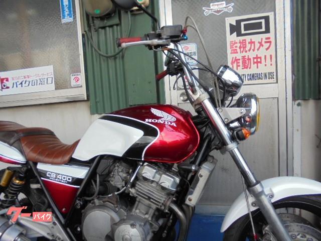 ホンダ CB400Super Four 赤白の画像(愛知県