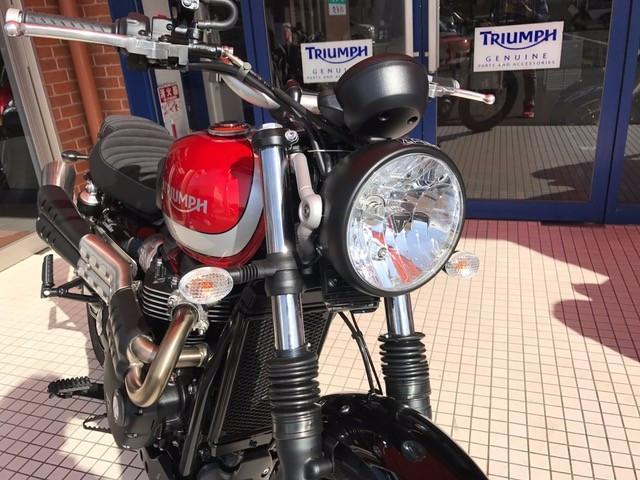 TRIUMPH ストリートスクランブラーの画像(愛知県