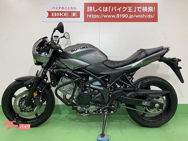 スズキ SV650X ヘプコ&ベッカー製エンジンガード アグラス製エンジンスライダー装備の画像(愛知県