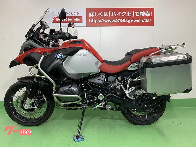 BMW R1200GSアドベンチャー BMWモトラッドナビV装備 サイドパニア装備の画像(愛知県
