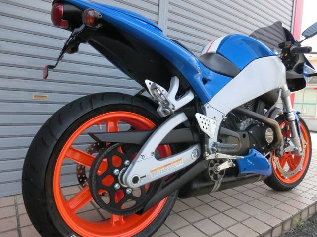 Buell ファイアーボルトXB9R レーシングストライプ ホイールパールオレンジの画像(岐阜県