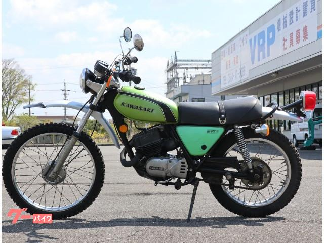 カワサキ 125TRの画像(岐阜県