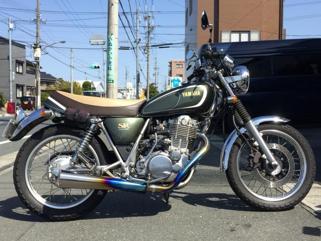 ヤマハ SR400 35thAnniversaryEdition ETC チタンマフラーの画像(静岡県